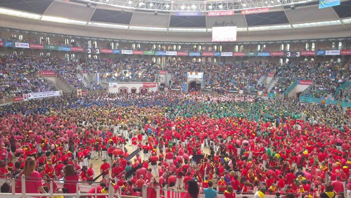Concurso de castells 2014, Tarraco Arena Plaça