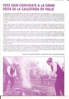 Página 1 del folleto de la fiesta de la calçotada