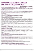 Pàgina 2 del folleto de la festa de la calçotada