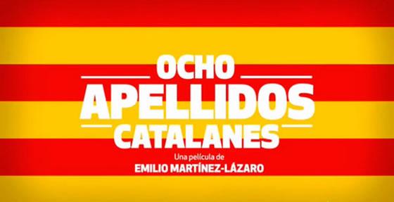 Cartel de la película Ocho apellidos catalanes