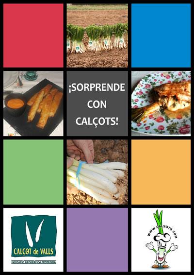 Sorprende con calçots, el libro de recetas con calçots de Calsots.com