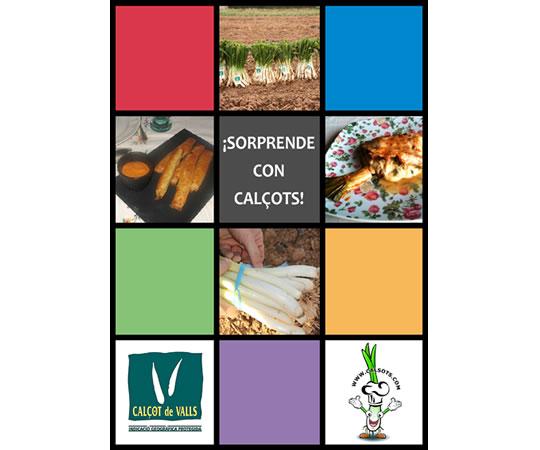 Libro de recetas con calçots de Calsots.com (eBook)