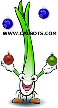 calçots por navidad